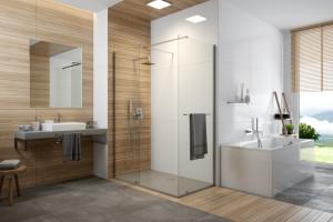 Kabina prysznicowa: 10 modnych modeli typu walk-in