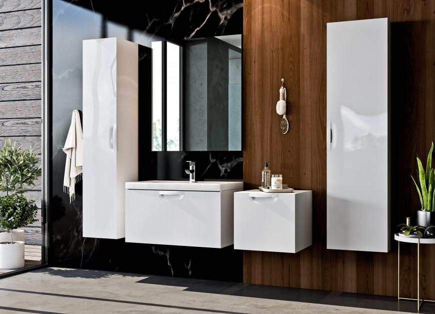 FLOU - kolekcja mebli łazienkowych dla wielbicieli minimalizmu / Defra