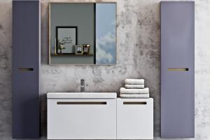 SENSO - kolekcja zmysłowych mebli łazienkowych / Deftrans