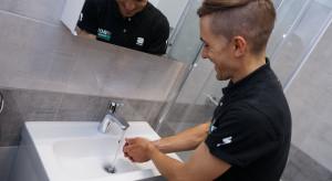 [Wywiad] Produkty Hansgrohe w łazience Cesare Benedettiego. Zobacz jak ona wygląda!