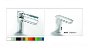 AQ1 – armatura umywalkowa sensoryczna i manualna / Hewi