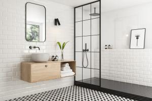 Płytki jak stare kafle: tak urządzisz urokliwą łazienkę