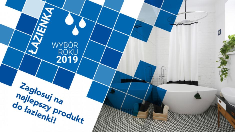 Zagłosuj na najlepszy produkt do łazienki 2019 roku!