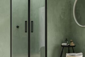 Modna strefa prysznica: czarne kabiny prysznicowe