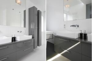 Łazienka na wysoki połysk: tak optycznie powiększysz wnętrze!