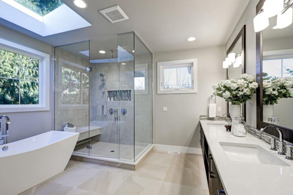Efektywna wentylacja rozwiąże problem nadmiernej wilgoci w łazience