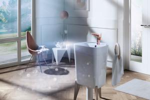 Baterie łazienkowe: trendy wzornicze z ISH