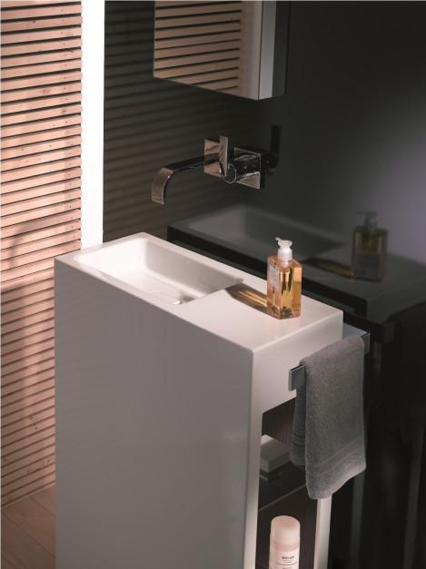 Aranżujemy łazienka Dla Gości Reprezentacyjne Umywalki Na
