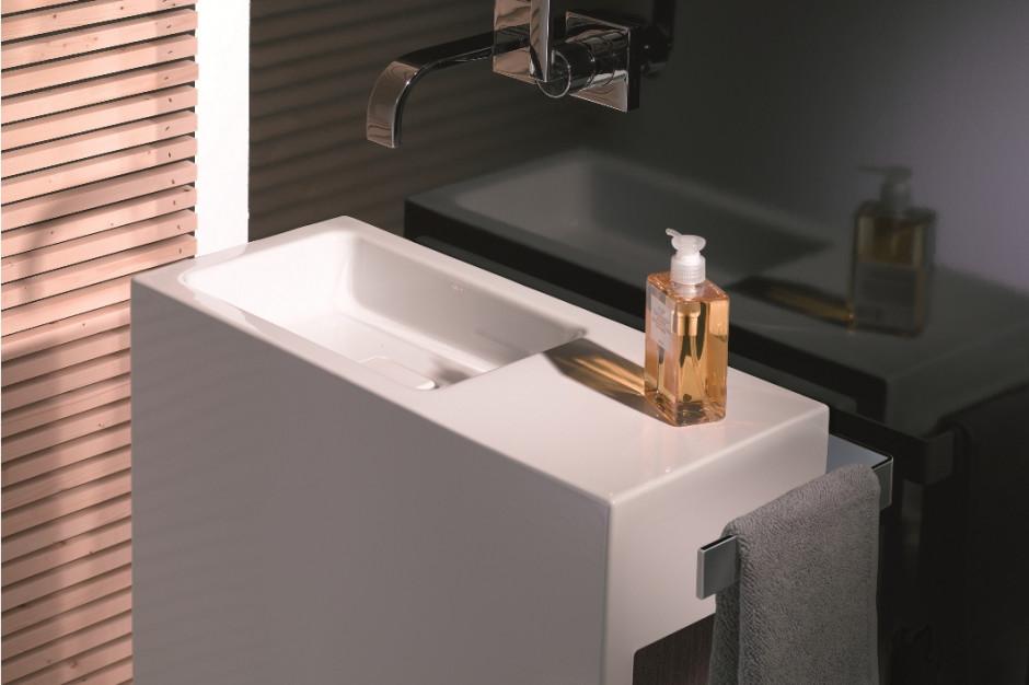 Łazienka dla gości: reprezentacyjne umywalki na każdy metraż