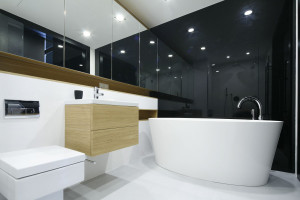 Podłoga w łazience: propozycje projektantów