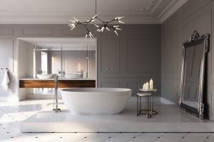 Salon kąpielowy: zobacz gotowy pomysł na aranżację