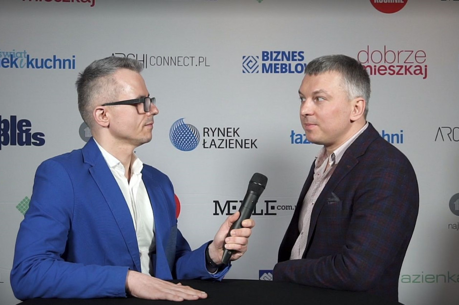 [Wideo] Denis Łukjanow, marka Blue Water: planujemy urozmaicić ofertę o armaturę łazienkową w kolorze czarnym