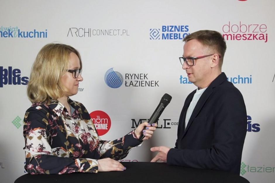 Marcin Jędrzak, designer: projektowane wyposażenie musi być ergonomiczne i bezpieczne, również dla dzieci i osób starszych
