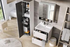 Meble łazienkowe: 12 modnych kolekcji