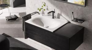 Czerń w łazience: zobacz elegancką kolekcję mebli
