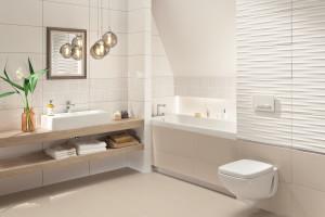 Płytki 3D: modne kolekcje do łazienek