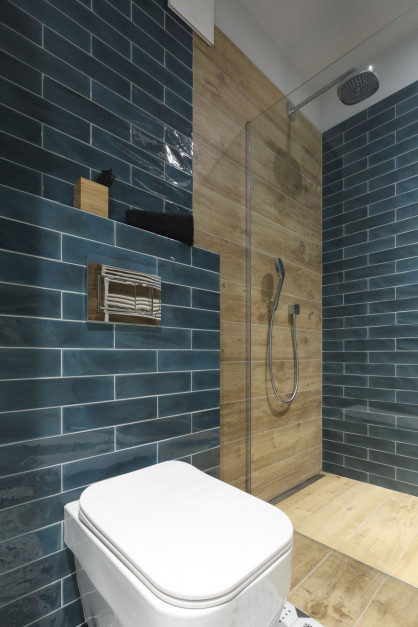 Mała łazienka: zobacz gotowy projekt w kolorze