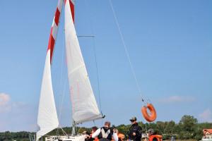 Michał Paszkowski powie, co łączy 77 Racing Sailing Club z firmą Steinberg