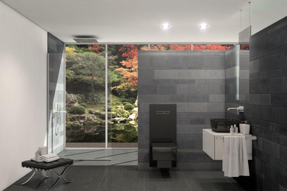 Wraca moda na ciemne łazienki: nie zapomnij o detalach!