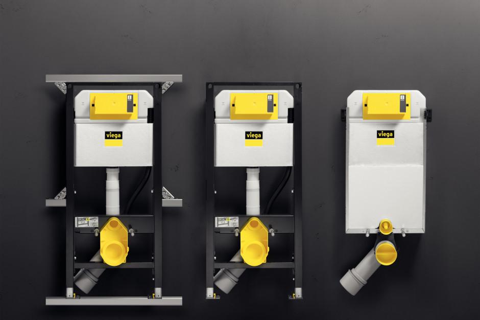 Funkcjonalna aranżacja łazienki z nowymi systemami podtynkowymi