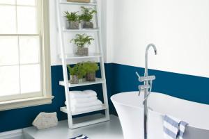 Ściany w łazience - pomaluj je farbą!