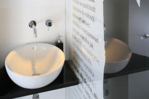 Ściana w łazience: 5 oryginalnych pomysłów