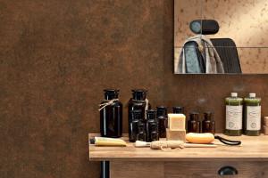 Płytki ceramiczne: nowa kolekcja niczym rdzawa blacha