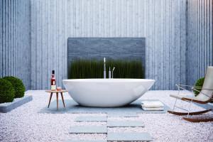 Wanny wolnostojące: 10 pięknych modeli w bieli