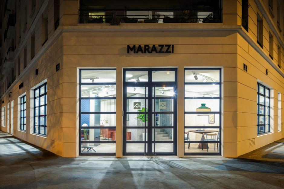 Zobacz, jak prezentuje się francuski salon wystawowy z ceramiką marki Marazzi