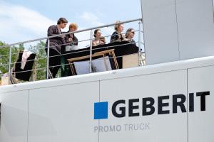 Geberit Promo Truck ruszył w trasę. Zobacz, jak się prezentuje!