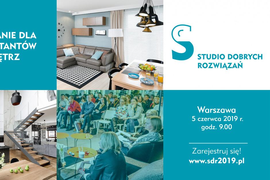 5 czerwca zapraszamy na spotkanie Studia Dobrych Rozwiązań w Warszawie!