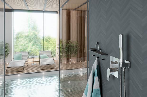 Nowoczesna strefa prysznica: postaw na zestaw z podtynkową baterią