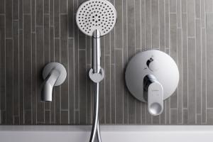 Baterie łazienkowe: nowa seria do nowoczesnych wnętrz
