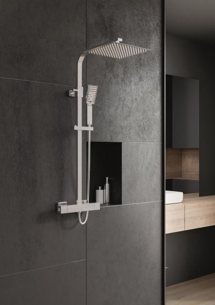 Strefa prysznica: postaw na kolumnę natryskową