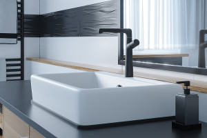 Baterie umywalkowe: 5 modeli w modnej czerni