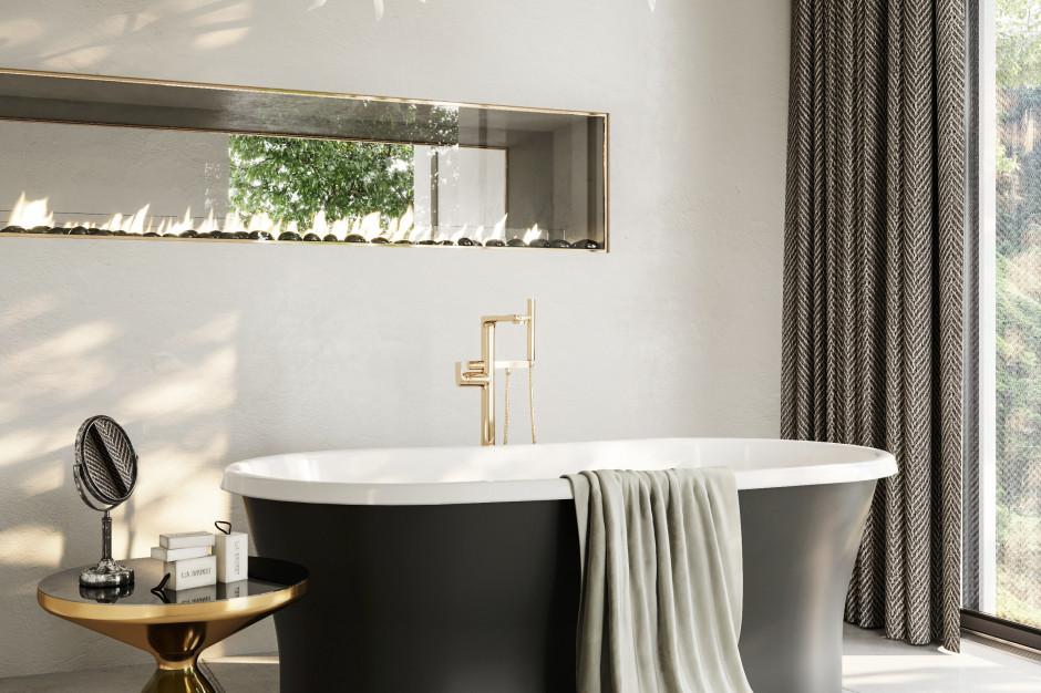 Modna łazienka: 4 modele czarnych wanien