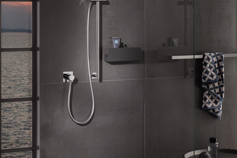 Funkcjonalna strefa prysznica: wybierz praktyczne półki