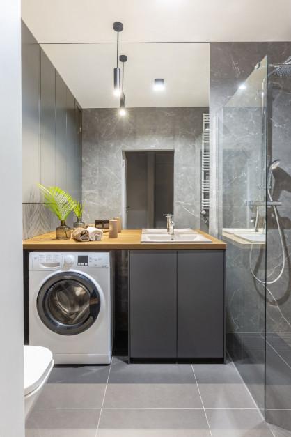 Łazienka z pralką: pomysły z polskich mieszkań