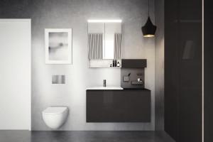 Zobacz jak prezentują się meble łazienkowe z kolekcji Acanto od Geberit