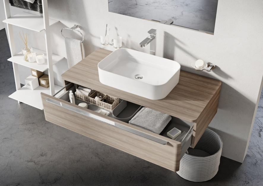 Umywalki nablatowe: nowe modele z cienkimi ściankami