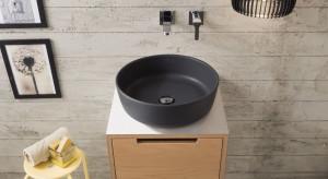 Kolorowe umywalki: 5 modnych modeli