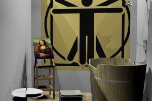 Słynne łazienki inspirowane wybitnymi osobowościami na targach Cersaie 2019