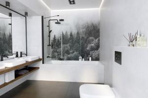 Wanna z parawanem: idealny sposób na strefę kąpieli