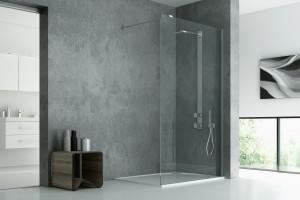 Funkcjonalna i elegancka strefa prysznica: postaw na kabinę typu walk-in