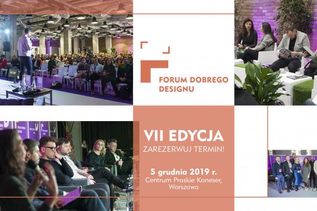 Przed nami VII edycja Forum Dobrego Designu. Zarezerwuj termin!