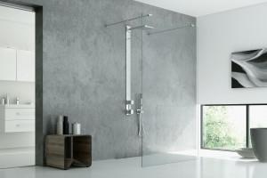 Kabiny prysznicowe walk-in to funkcjonalizm i prostota w każdym calu