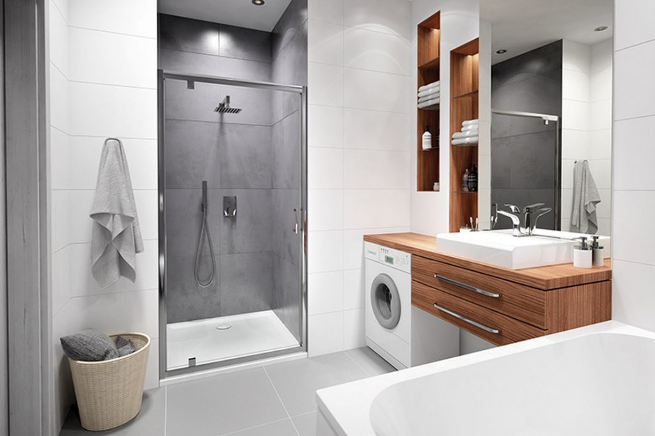 Prostota i minimalizm w łazience zawsze w modzie