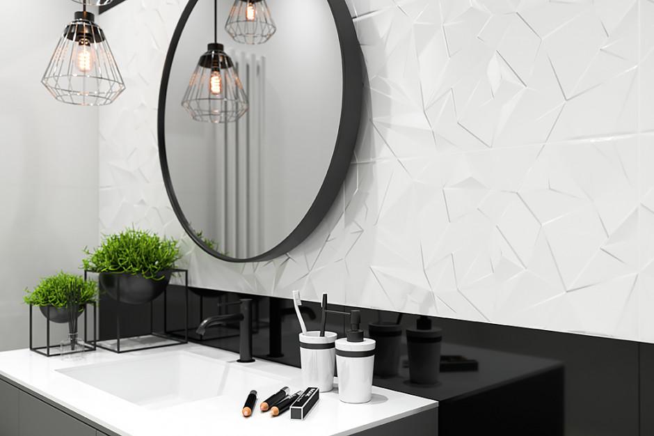 Nadaj charakter łazience, postaw na płytki 3D