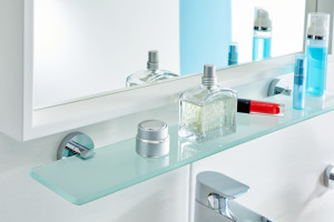 Koniec z wierceniem w płytkach! Akcesoria łazienkowe do pięknego wnętrza wyremontowanej łazienki