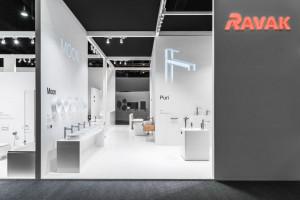 [ISH 2019] Elegancka prostota w najlepszej formie na stoisku firmy Ravak